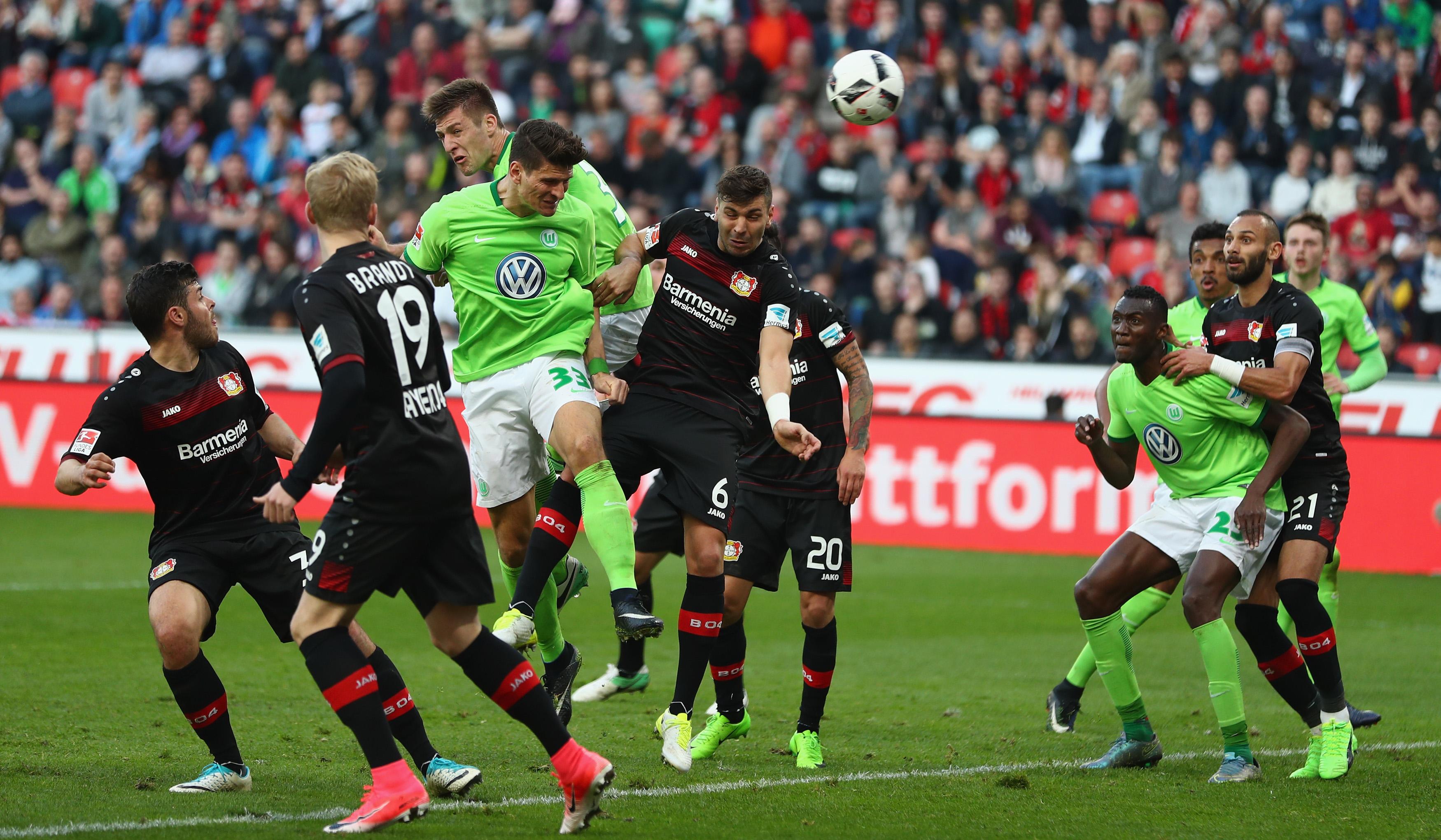 Wolfsburg Gegen Leverkusen