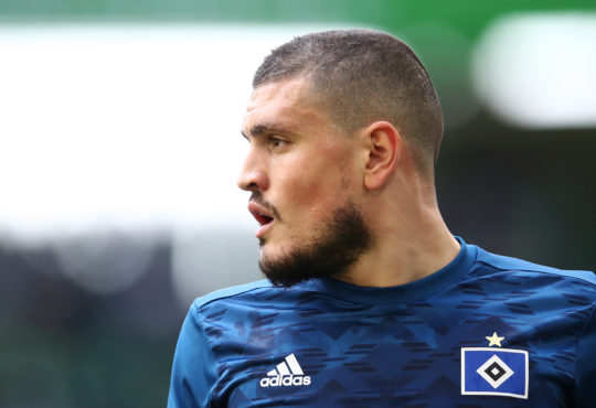 Kyriakos Papadopoulos im HSV Trikot - aber wie lange noch=