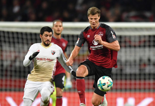 Patrick Erras 1.FC Nürnberg DFB-Pokal Michael Köllner Koellner 1.Bundesliga SV Linx Ondrej Petrak