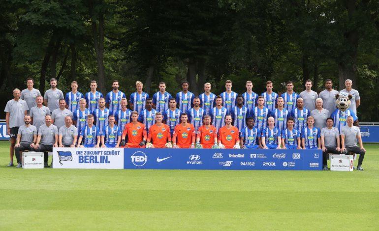 Hertha BSC Mannschaftsfoto