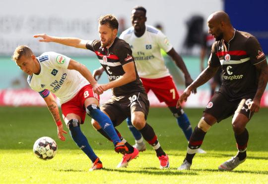Derby zwischen HSV und St. Pauli endet torlos