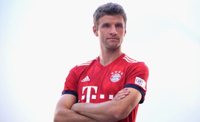 Thomas Müller auf der Bank