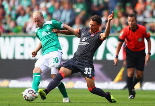 1.FC Nürnberg Nuernberg Geog Margreitter Yuya Kubo Mikael Ishak Ewerton Michael Köllner Koellner Bundesliga