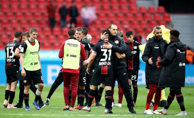 Bayer 04 Leverkusen gegen Borussia Dortmund