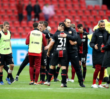 Bayer 04 Leverkusen Fortuna Düsseldorf Heiko Herrlich Friedhelm Funkel Kevin Volland Kai Havertz 1.Bundesliga Bundesliga
