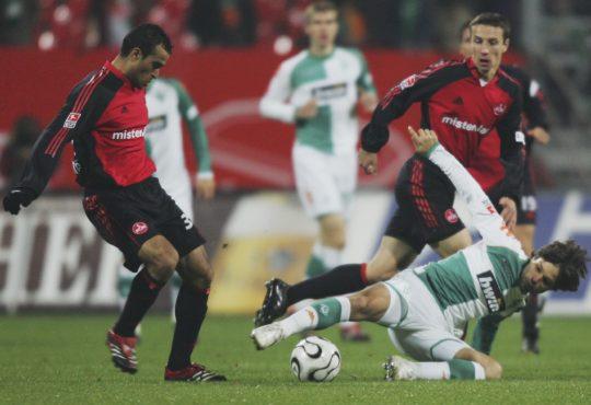 Werder Bremen 1.FC Nürnberg Nuernberg Michael Köllner Koellner Florian Kohfeldt Weserstadion 1.Bundesliga Bundesliga