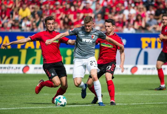 Augsburg gegen Freiburg