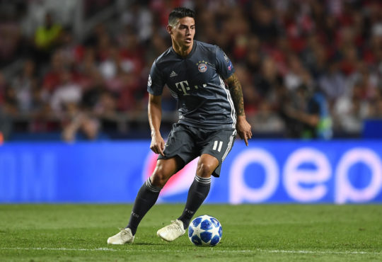 James Rodriguez im Fokus anderer Vereine