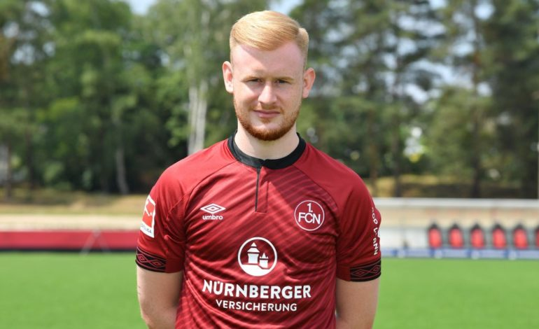1.FC Nürnberg Sebastian Kerk Bundesliga 1.Bundesliga