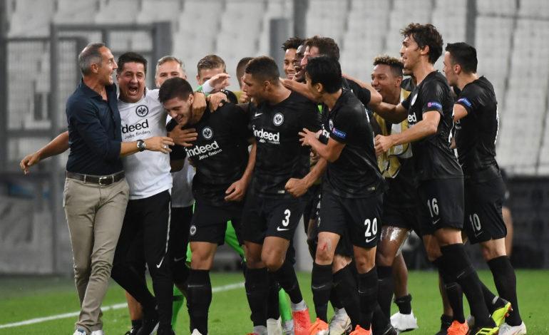 Eintracht Frankfurt Lazio Rom Europa League Bundesliga 1.Bundesliga Adi Hütter Bruno Hübner