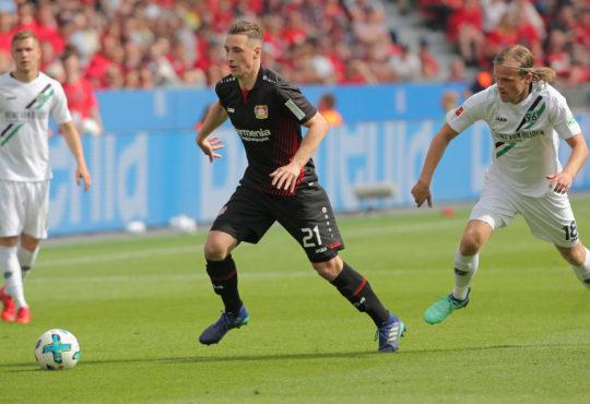 Leverkusen gegen Hannover