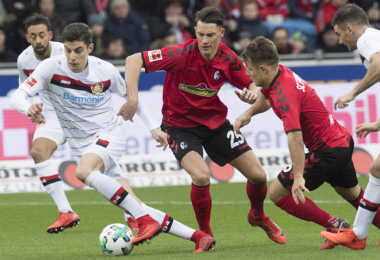 Leverkusen steht in Freiburg unter Druck