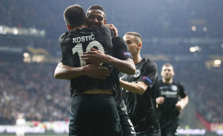 Eintracht Frankfurt dank Angriffs-Trio in bestechender Form