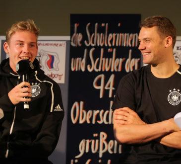 Deutsche Nationalmannschaft will gegen Russland für Wiedergutmachung sorgen