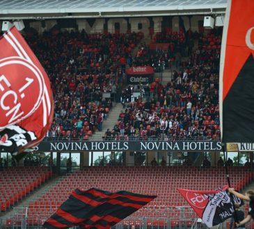 Proteste bei Nürnberg - Leverkusen