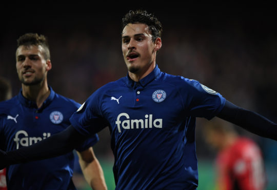 Holstein Kiel Hamburger SV HSV Janni Serra Hannes Wolf Bundesliga 2.Bundesliga