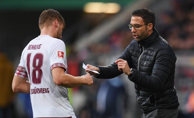 1.FC Nürnberg Boris Schommers Hanno Behrens Mikael Ishak Michael Köllner Koellner Andreas Bornemann Bundesliga