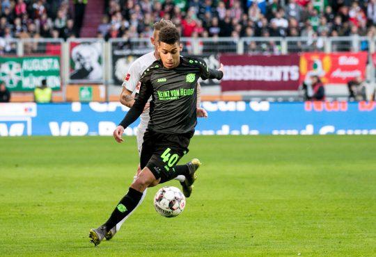 1.FC Köln Hannover 96 Greuther Fürth Bundesliga Linton Maina Daniel Keita-Ruel Markus Anfang Armin Veh