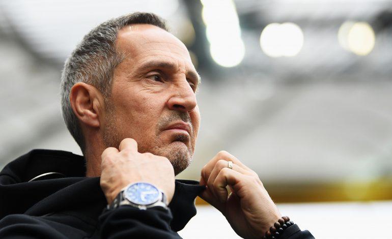 Eintracht Frankfurt Sébastien Haller Adi Hütter Huetter Bundesliga