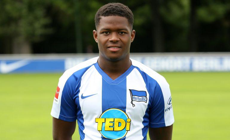 Daishawn Redan darf mit in das zweite Trainingslager von Hertha BSC fahren
