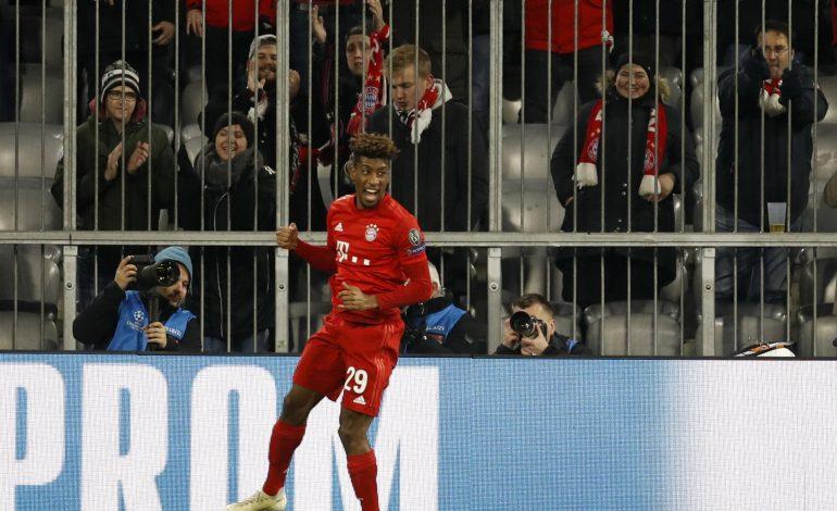 Bayern mit Coman und Hernandez