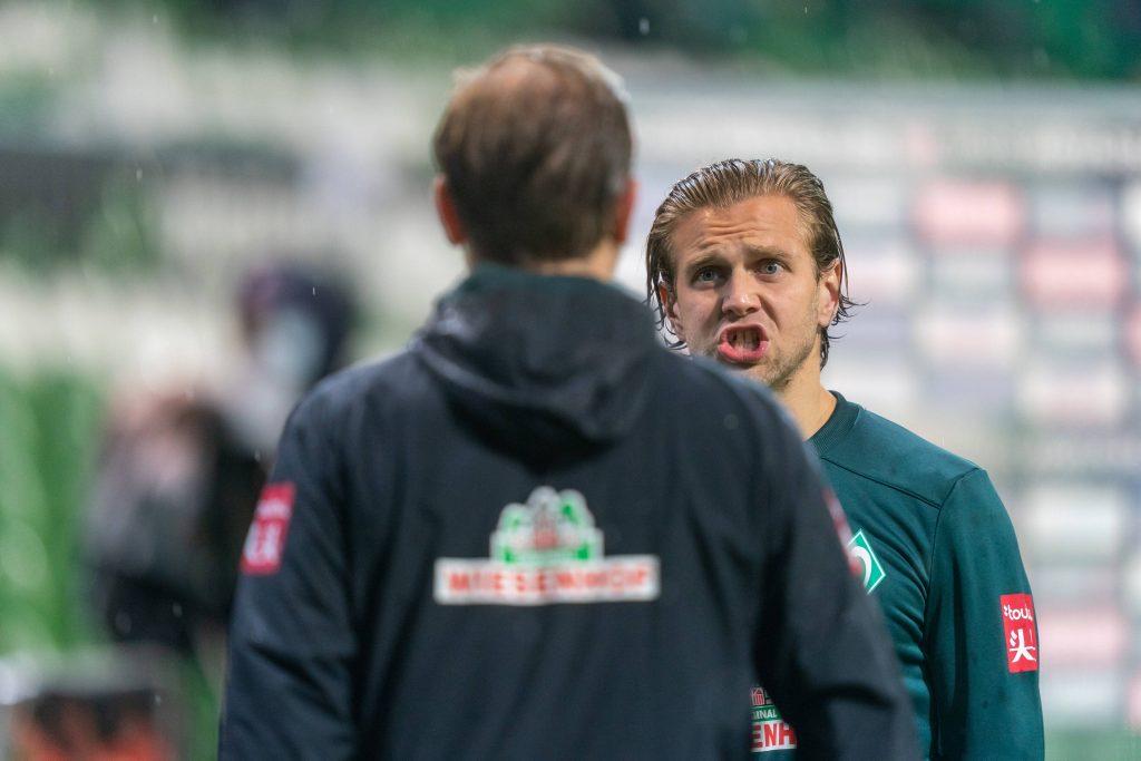 Niclas Füllkrug Florian Kohfeldt Werder Bremen