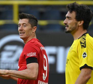 Bundesliga Bayern München Borussia Dortmund Robert Lewandowski Mats Hummels
