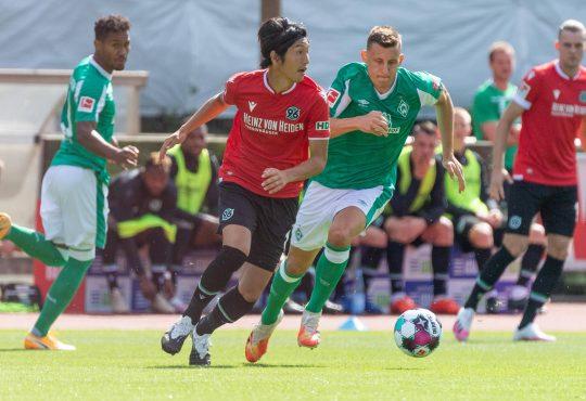 DFB-Pokal Hannover 96 Werder Bremen