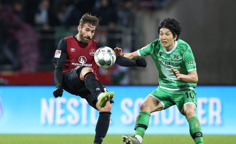 2. Bundesliga 1. FC Nürnberg Hannover 96