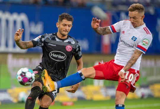 2. Bundesliga Hamburger SV HSV Fortuna Düsseldorf