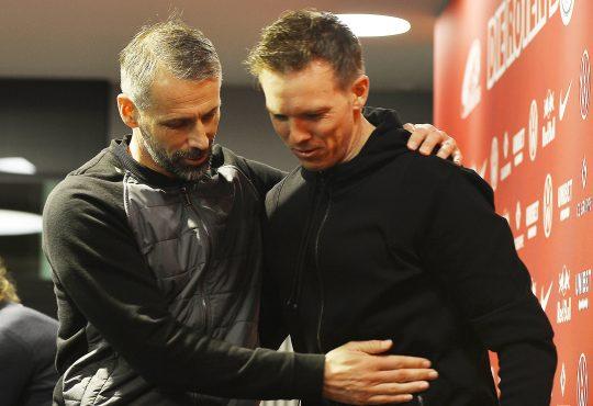 Marco Rose Julian Nagelsmann Bundesliga Aufstellungen RB Leipzig Borussia Mönchengladbach Gladbach Bullen