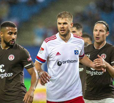 2. Bundesliga Aufstellungen Hamburger SV FC St. Pauli Derby