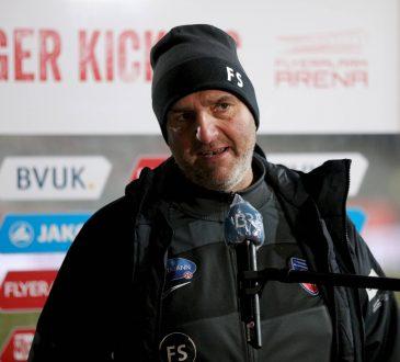 Frank Schmidt 1. FC Heidenheim 2. Bundesliga Geisterspiele