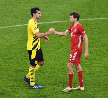 Bundesliga Aufstellungen FC Bayern München Borussia Dortmund Mats Hummels Thomas Müller