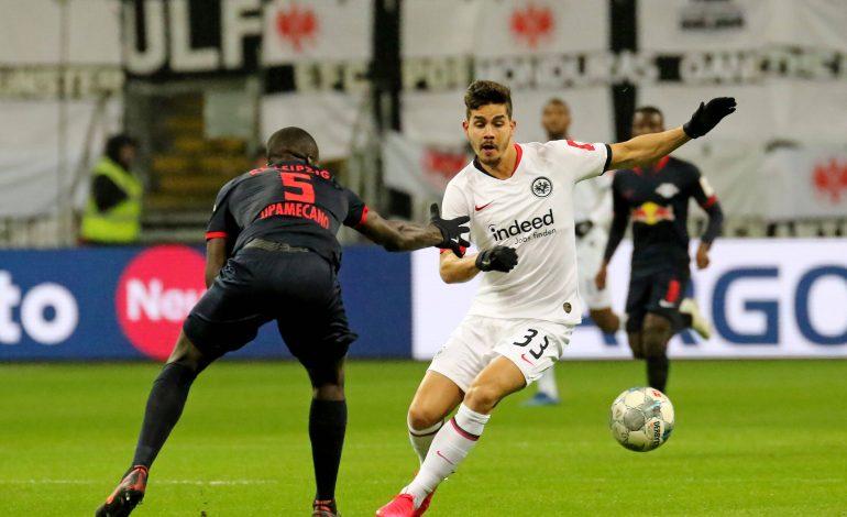 1. Bundesliga Aufstellungen RB Leipzig Eintracht Frankfurt Andre Silva Dayot Upamecano