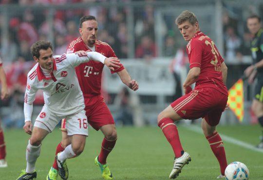 Juri Judt 1. FC Nürnberg SpVgg Greuther Fürth Bundesliga Frankenderby