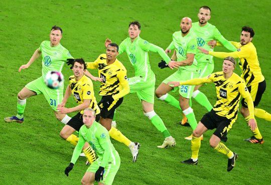 Bundesliga Aufstellungen Voraussichtliche Borussia Dortmund BVB VfL Wolfsburg Erling Haaland Wout Weghorst