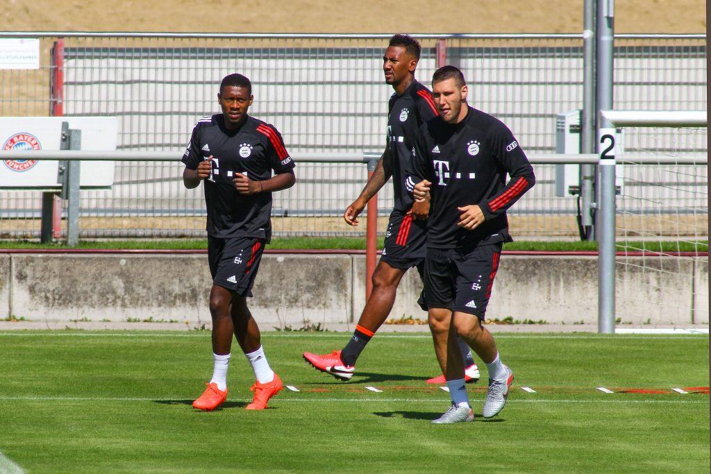 Niklas Süle Jerome Boatent David Alaba FC Bayern München Bundesliga