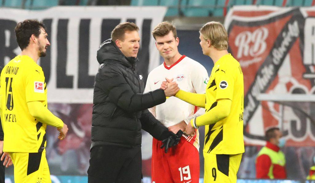 Alexander Sörloth RB Leipzig Bundesliga Werder Bremen DFB-Pokal-Halbfinale Julian Nagelsmann Erling Haaland