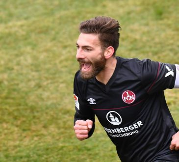 Enrico Valentini 1. FC Nürnberg Kapitän 2. Bundesliga Hanno Behrens Georg Margreitter Lukas Mühl 2018 Aufstieg Würzburger Kickers FWK