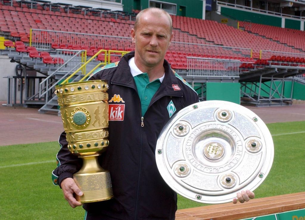 Thomas Schaaf SV Werder Bremen Bundesliga DFB-Pokal Double 2004