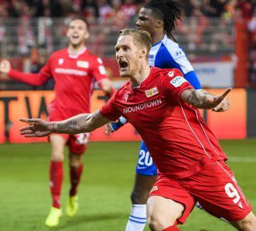Sebastian Polter 1. FC Union Berlin Hertha BSC Berlin Derby Stadtderby Bundesliga