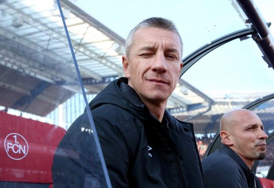 Marek Mintal 1. FC Nürnberg Bundesliga Dieter Hecking