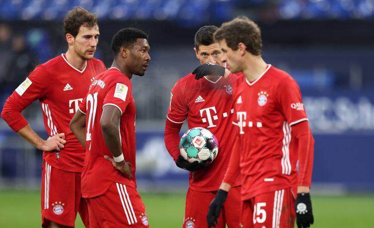 Bundesliga FC Bayern München David Alaba Thomas Müller Robert LewandowskiHannes Wolf Bayer 04 Leverkusen Andrej Kramaric RB Leipzig Klostermann Zahlen