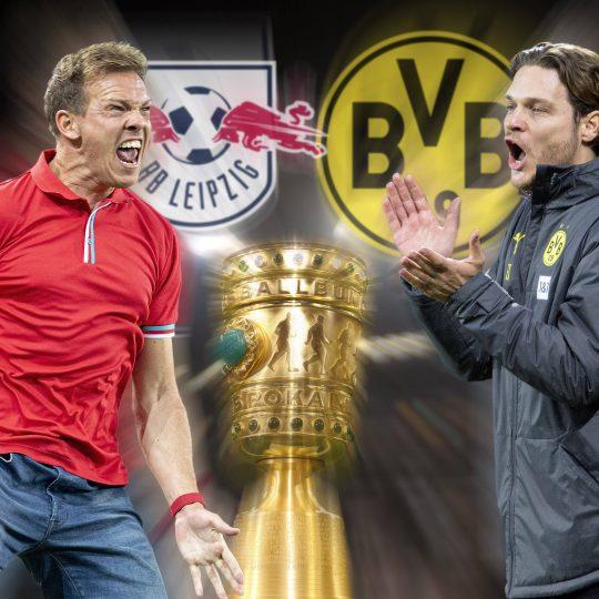 BVB Voraussichtliche Aufstellungen Borussia Dortmund RB Leipzig DFB-Pokal-Finale Julian Nagelsmann Edin Terzic Erling Haaland Angelino