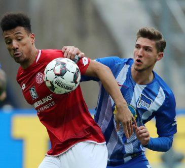 Karim Onisiwo Hertha BSC FSV Mainz 05 Bundesliga Qurantäne Niklas Stark