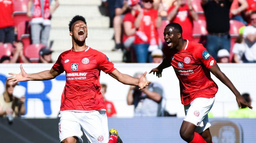 Karim Onisiwo Hertha BSC FSV Mainz 05 Bundesliga Qurantäne Jean-Philippe Mateta