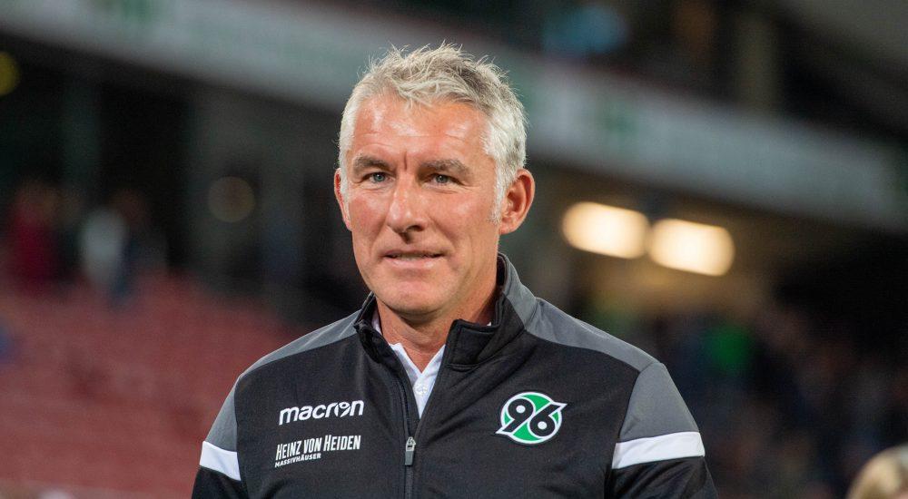 Hannover 96 2. Bundesliga Mirko Slomka Jan Zimmermann Martin Kind Gerry Zuber
