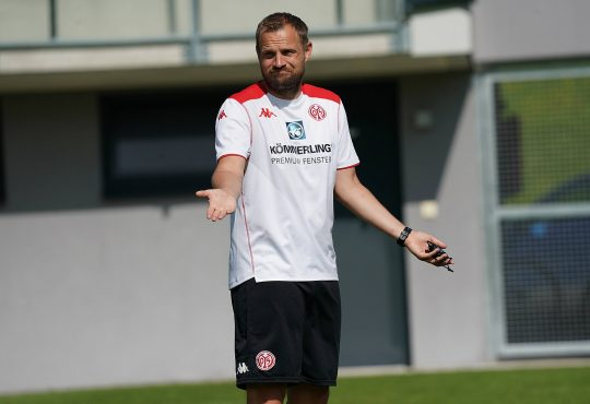 1. FSV Mainz 05 Aaron Martin Bo Svensson Christian Heidel Martin Schmidt Bundesliga