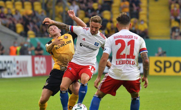 Dynamo Dresden Hamburger SV 2. Spieltag FC Schalke 04 Holstein Kiel Werder Bremen Düsseldorf Nürnberg Hannover St. Pauli 2. Bundesliga Die voraussichtlichen Aufstellungen